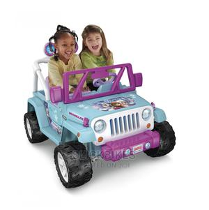 Power Wheels Disney Frozen Jeep Wrangler 12V Ride on Vehicle | Toys for sale in Lagos State, Isolo