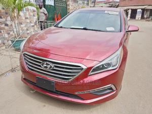Hyundai Sonata 2015 Red | Cars for sale in Lagos State, Oshodi