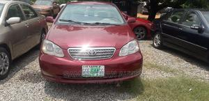 Toyota Corolla 2006 LE Red   Cars for sale in Abuja (FCT) State, Kubwa