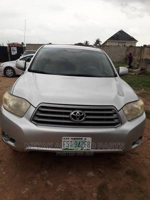 Toyota Highlander 2009 Silver   Cars for sale in Lagos State, Alimosho