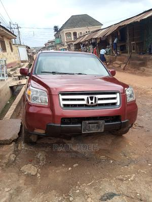 Honda Pilot 2008 EX 4x2 (3.5L 6cyl 5A) Red | Cars for sale in Lagos State, Ipaja