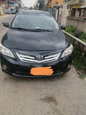 Toyota Corolla 2012 Black | Cars for sale in Lagos State, Shomolu