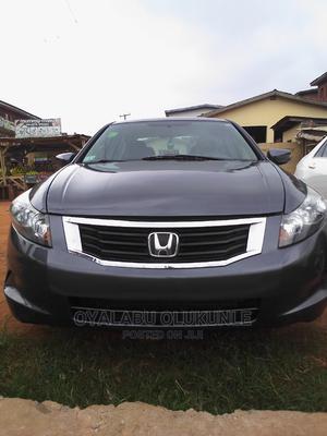 Honda Accord 2009 2.4 EX Gray   Cars for sale in Oyo State, Ibadan