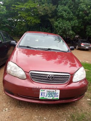 Toyota Corolla 2005 Red | Cars for sale in Abuja (FCT) State, Jabi