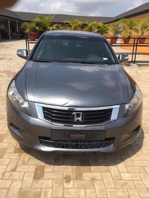 Honda Accord 2009 2.0 I-Vtec Gray | Cars for sale in Lagos State, Magodo