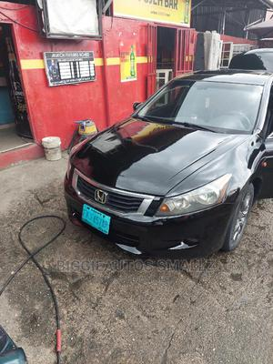 Honda Accord 2009 2.4 Black | Cars for sale in Rivers State, Obio-Akpor