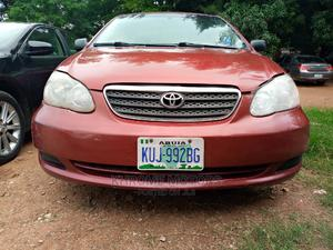 Toyota Corolla 2005 LE Red   Cars for sale in Abuja (FCT) State, Jabi