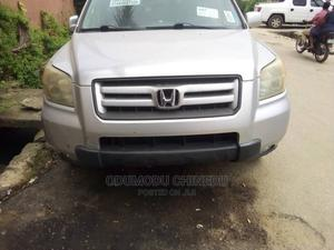 Honda Pilot 2007 EX-L 4x4 (3.5L 6cyl 5A) Silver | Cars for sale in Rivers State, Port-Harcourt