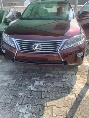 Lexus RX 2015 350 AWD Red   Cars for sale in Lagos State, Ikeja