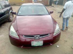 Honda Accord 2004 Red | Cars for sale in Lagos State, Egbe Idimu