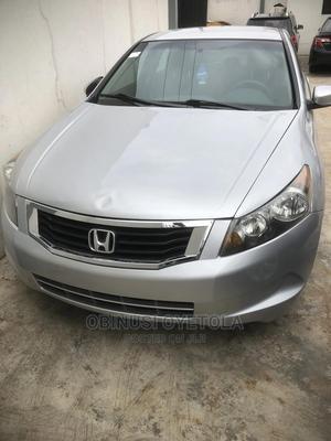 Honda Accord 2008 2.4i VTec Executive Silver | Cars for sale in Lagos State, Ikeja