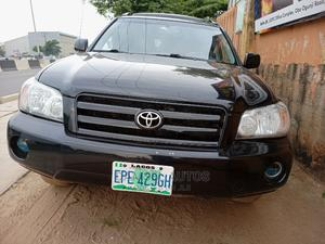 Toyota Highlander 2007 Limited V6 Black   Cars for sale in Lagos State, Ogba