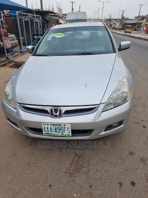 Honda Accord 2006 Sedan LX 3.0 V6 Automatic Silver | Cars for sale in Lagos State, Agege