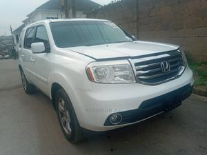 Honda Pilot 2012 White   Cars for sale in Lagos State, Ogba