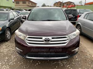 Toyota Highlander 2013 Limited 3.5l 4WD Purple   Cars for sale in Lagos State, Ikeja