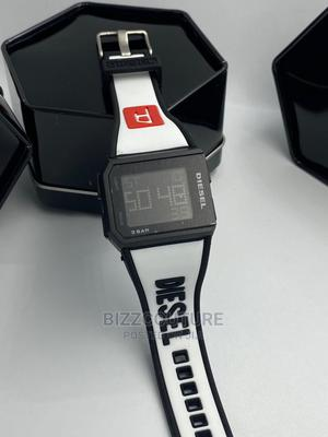 High Quality DIESEL DIGITAL Rubber Watch Available for Sale   Watches for sale in Lagos State, Magodo