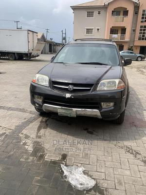 Acura MDX 2002 3.5L 4x4 Black   Cars for sale in Lagos State, Ajah