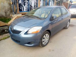 Toyota Yaris 2010 Base Sedan 4dr Blue | Cars for sale in Lagos State, Isolo