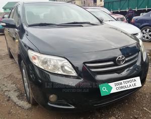 Toyota Corolla 2008 Black | Cars for sale in Abuja (FCT) State, Gwagwalada