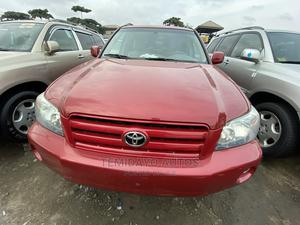 Toyota Highlander 2005 V6 4x4 Red | Cars for sale in Lagos State, Apapa