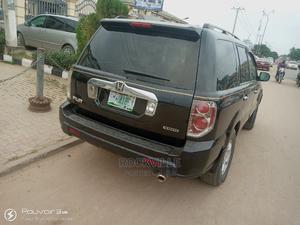 Honda Pilot 2007 EX-L 4x4 (3.5L 6cyl 5A) Black | Cars for sale in Lagos State, Ipaja