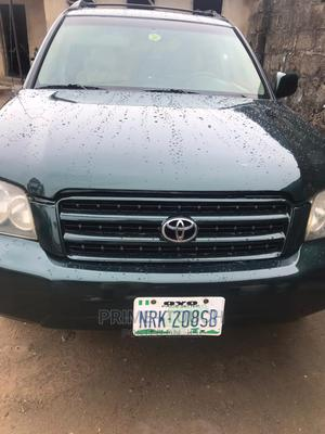 Toyota Highlander 2004 Limited V6 4x4 Green   Cars for sale in Lagos State, Surulere