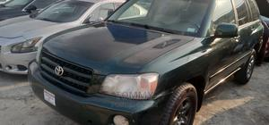 Toyota Highlander 2003 Green | Cars for sale in Rivers State, Port-Harcourt