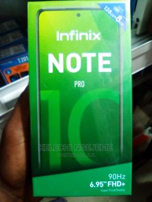 New Infinix Note 10 Pro 128 GB Black   Mobile Phones for sale in Lagos State, Ikeja