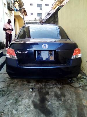 Honda Accord 2008 2.4 EX Automatic Blue | Cars for sale in Lagos State, Ojodu