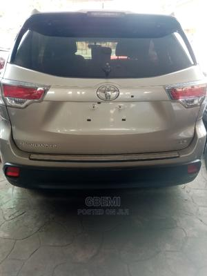 Toyota Highlander 2015 Brown | Cars for sale in Lagos State, Ifako-Ijaiye