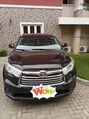 Toyota Highlander 2015 Black | Cars for sale in Lagos State, Lekki