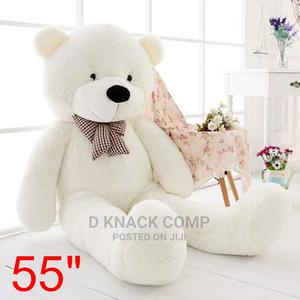"""White Teddy Bear Dolls Huge Cuddly Soft Plush Toys Doll 55"""" 