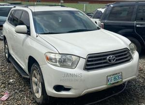 Toyota Highlander 2008 White   Cars for sale in Lagos State, Ogba