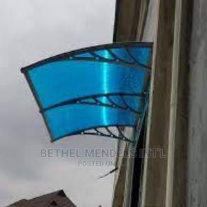Window Polycarbonate Awning and Overhead Door Canopy   Building Materials for sale in Lagos State, Ikeja