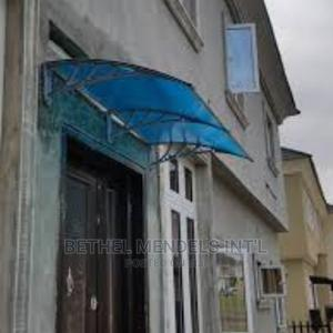 Polycarbonate Door and Window Canopy for Rain Protection   Building Materials for sale in Lagos State, Ikeja