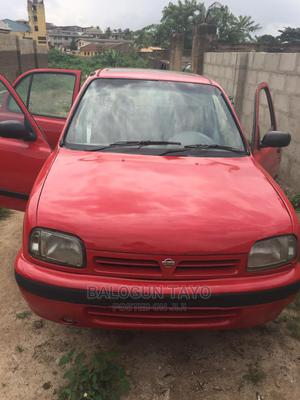 Nissan Micra 2002 Red | Cars for sale in Oyo State, Oluyole