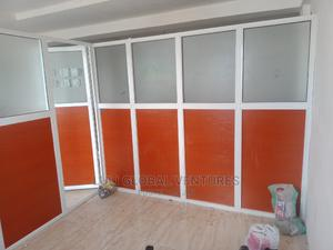Aluminium Office Partition, Window, Aluco Board, Stainless | Windows for sale in Oyo State, Ibadan