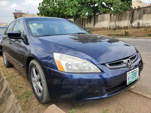 Honda Accord 2005 Coupe EX Automatic Blue | Cars for sale in Lagos State, Ikeja