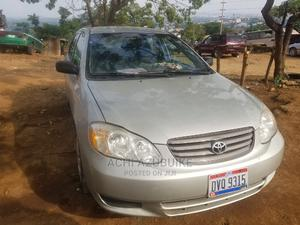Toyota Corolla 2003 Sedan Automatic Silver   Cars for sale in Abuja (FCT) State, Mpape
