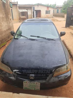 Honda Accord 2000 Coupe Black   Cars for sale in Lagos State, Ojodu