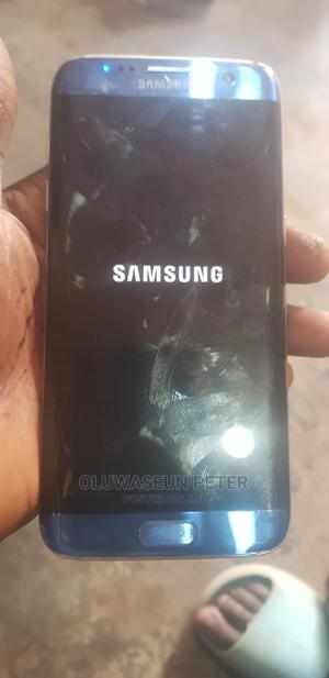 Samsung Galaxy S7 edge 32 GB Blue   Mobile Phones for sale in Lagos State, Alimosho