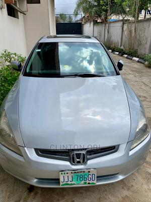 Honda Accord 2004 Coupe EX Gray   Cars for sale in Lagos State, Surulere