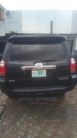 Toyota 4-Runner 2006 Sport Edition 4x4 V6 Black   Cars for sale in Lagos State, Isolo