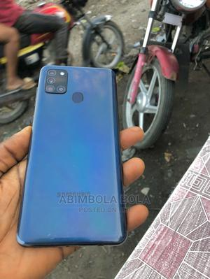 Samsung Galaxy A21s 32 GB Blue   Mobile Phones for sale in Lagos State, Ojo