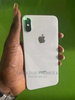 Apple iPhone X 64 GB Silver   Mobile Phones for sale in Osun State, Osogbo
