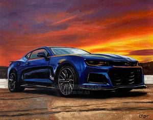 Car Art Painting Portrait | Arts & Crafts for sale in Lagos State, Alimosho