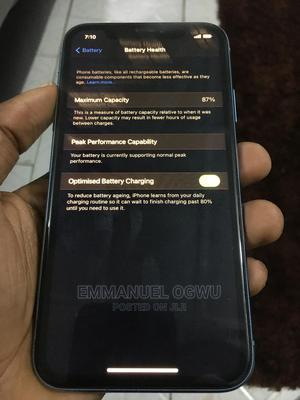 Apple iPhone XR 64 GB Blue   Mobile Phones for sale in Abuja (FCT) State, Kubwa