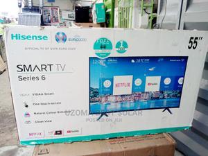 Hisense Smart LED Tv 55inchs | TV & DVD Equipment for sale in Lagos State, Lekki