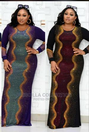 Elegant Quality Sequence Long Gown for Women   Clothing for sale in Abuja (FCT) State, Abaji