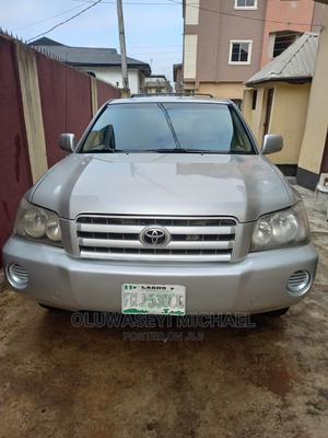 Toyota Highlander 2002 Limited V6 AWD Silver | Cars for sale in Lagos State, Ifako-Ijaiye